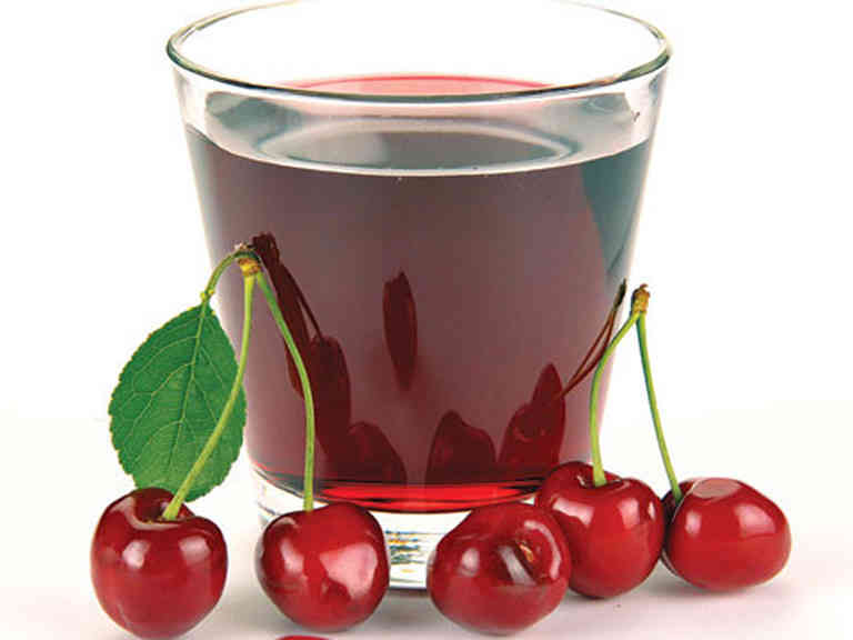 Quả cherry và ước ép cherry (anh đào)