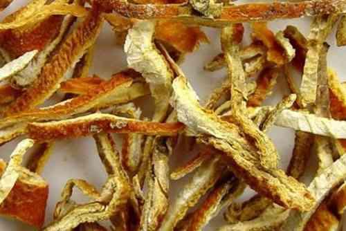 Vỏ bưởi phơi khô (phơi âm can) Citrus maxima
