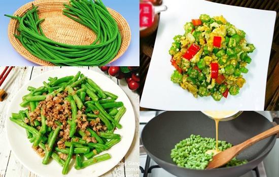 Các món ăn từ đậu đũa