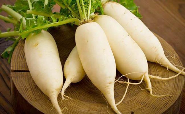 Củ cải trắng có tác dụng