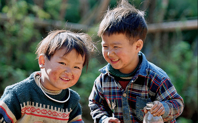 Nụ cười hồn nhiên