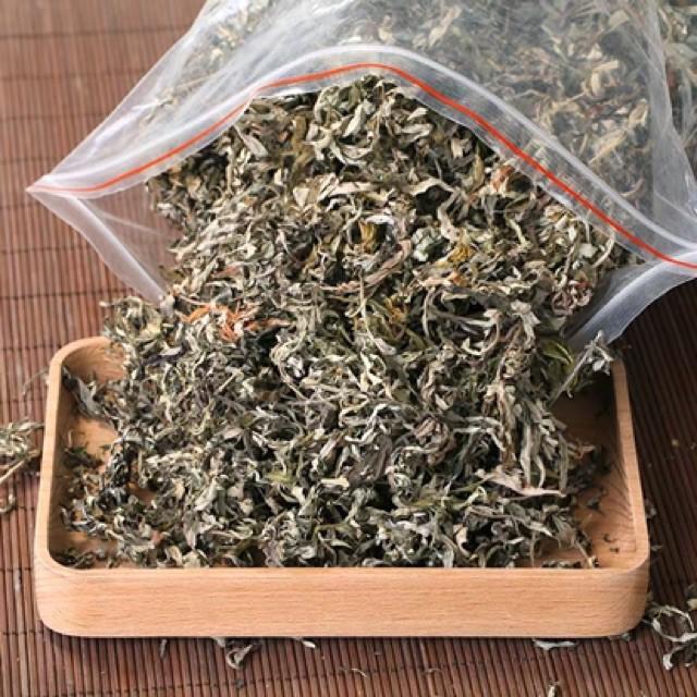 Uống trà lá ngải cứu phơi khô có tác dụng gì